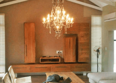 custom wooden living room furniture